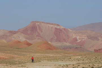 rose berglandschap in  Marocco van wil spijker