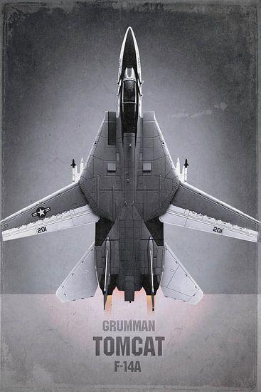 Straaljager - Grumman F-14A Tomcat van Stefan Witte