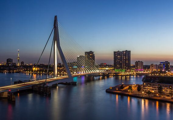 Rotterdam after sunset