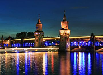Oberbaumbrücke Berlin sur Frank Herrmann