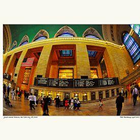 Grand Central Terminal New York City van strange IT