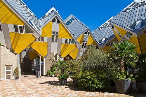 Kubus woningen Rotterdam van Anton de Zeeuw