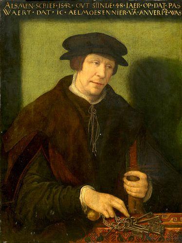 Porträt von einem man von Antwerpen