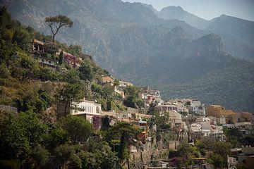 Landschaft Italien Berge von Esther Mennen