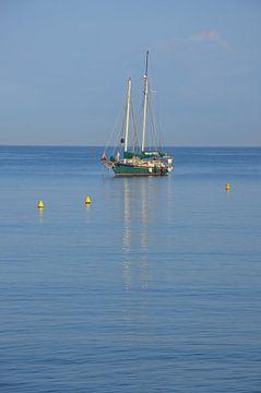 Zeilboot van Corinna Vollertsen