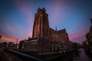 Die Grote oder Onze-Lieve-Vrouwekerk in Dordrecht von Hans Oskam