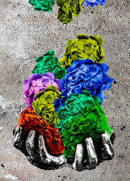 Unbenannte Rosen von Pieter Smeitink