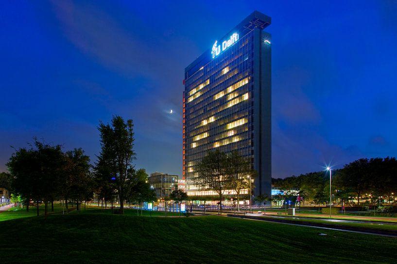 TU Delft Elektrotechniek gebouw van Anton de Zeeuw