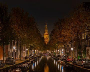 Een rustige herfstavond in Amsterdam van Remco Piet