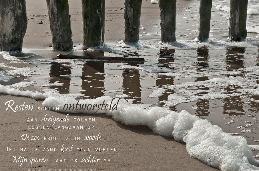 De zuiverende zee (2) van Beeld en Poëzie