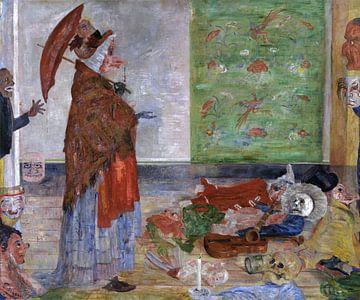 James Ensor. Erstaunen der Maske Wouse