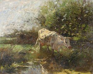 Wiese mit Kühen (1880-1910), Willem Maris