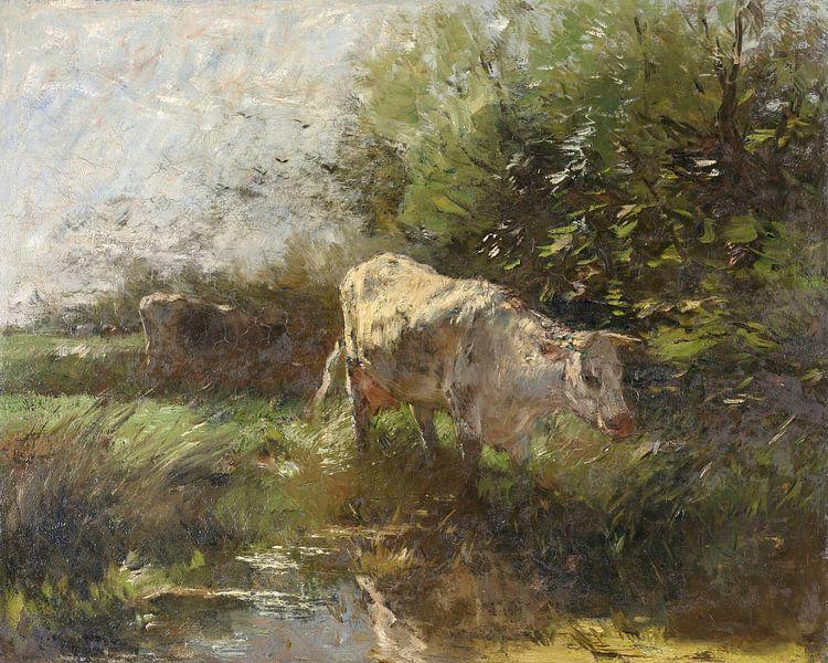 Wiese mit Kühen (1880-1910), Willem Maris von Atelier Liesjes