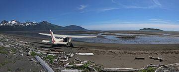 Landingsplaats in Alaska van Jos Hug