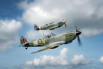 Spitfire Formation von Planeblogger