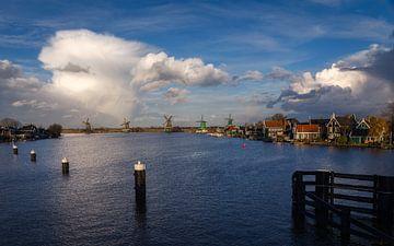 Nederlandse windmolens van de Zaanse Schans