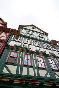 historisch vakwerkhuis in Schmalkalden van Heiko Kueverling