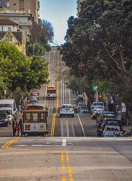 San Francisco cable car von Esref Uzel