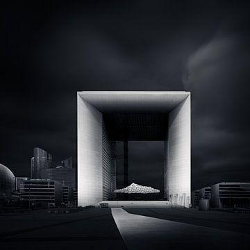 Grande Arche Paris van Martijn Kort