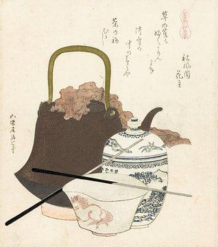 Keramiek uit Sôma, Katsushika Hokusai