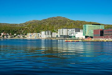 Blick auf Hammerfest in Norwegen von Rico Ködder
