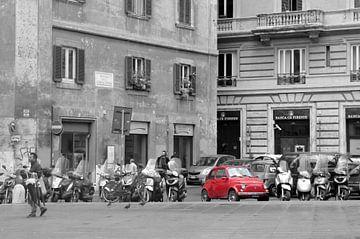 streetlife Rome von Milly van Helden
