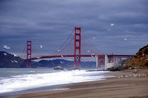 Golden Gate Bridge  van Marianne Bal