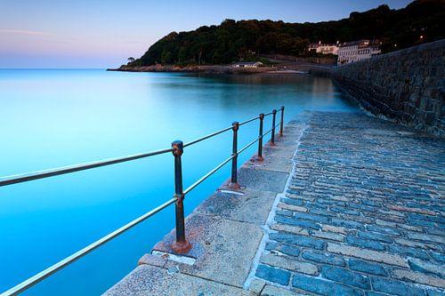 De kust van Guernsey van