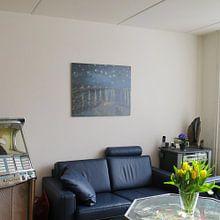 Kundenfoto: Sternennacht - Vincent van Gogh, auf hd metal