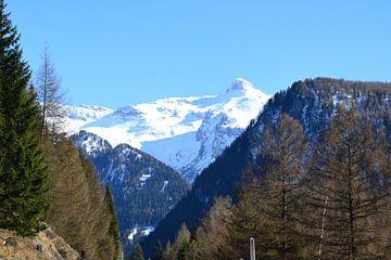berglandschap in Oostenrijk van Jeroen Franssen