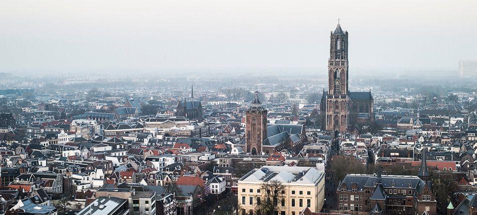 Domtoren vanaf het NS hoofdkantoor. van De Utrechtse Internet Courant (DUIC)