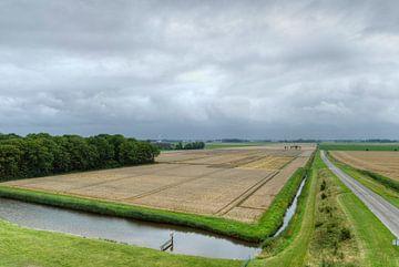 Westpolder in Vogelperspectief von Marnefoto .nl