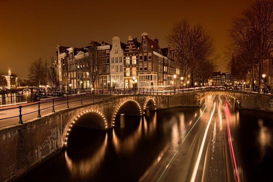 Amsterdam By night van Arnaud Bertrande