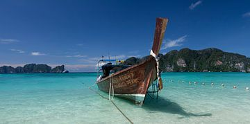 Koh Phi Phi boats van Mike van den Brink