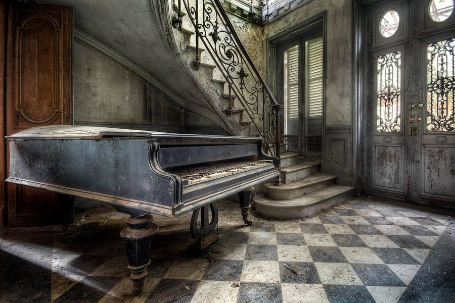 Huis van de Piano speler van Roman Robroek