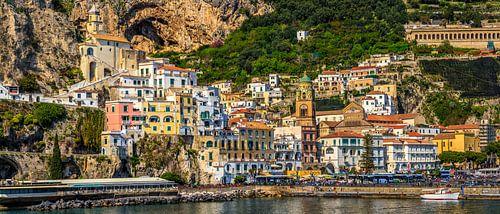 Colourful Amalfi, Italy von Teun Ruijters