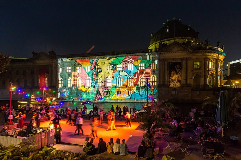 Le Bodemuseum de Berlin sous un éclairage particulier sur Frank Herrmann
