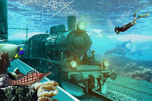 Fantasierijke Onderwaterwereld van