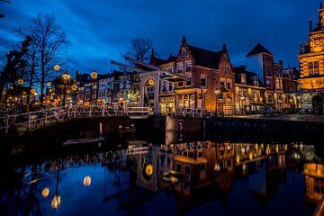 Bath brug in Alkmaar van Arjen Schippers
