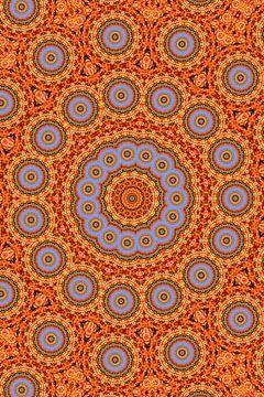 Kaleidoscoop Herfstblad van