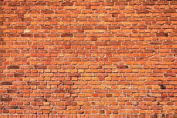 Mur de briques rouge, Bsmart sur 1x