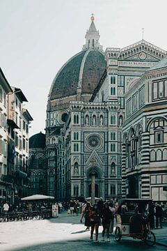 Kathedraal Florence Italie van Déwy de Wit