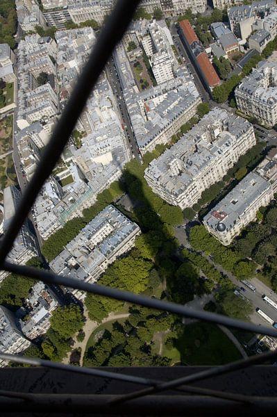 Eiffeltoren van Janne Mesu
