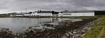 Laphroaig distillery van