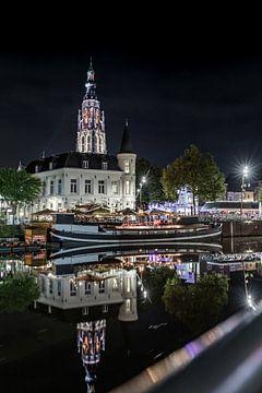 Breda Centre Port en soirée sur Andre Gerbens