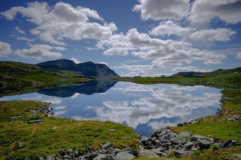 Reflecties in Noorwegen van Koos de Wit