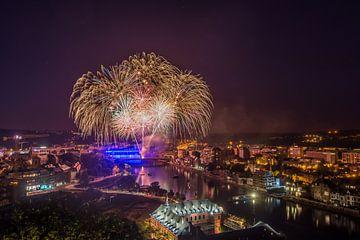 Vuurwerk Namur sur Bert Beckers