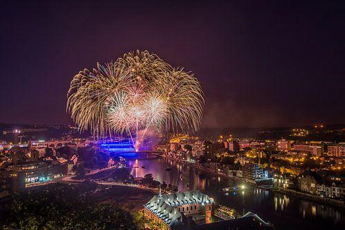 Vuurwerk Namur van Bert Beckers