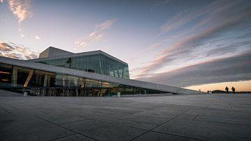 Opera building in Oslo sur Remco van Adrichem