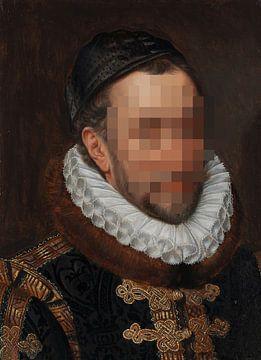 RECHERCHÉ : Portrait de Guillaume Ier, prince d'Orange, Adriaen Thomasz. Clé sur Studio POPPY